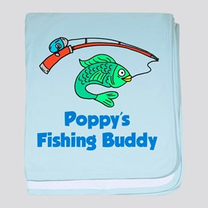Poppys Fishing Buddy baby blanket